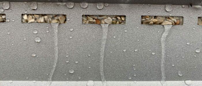Drainsystem Steinteppich