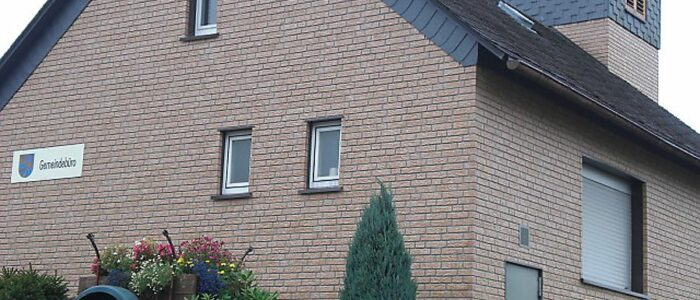 Fassade braun